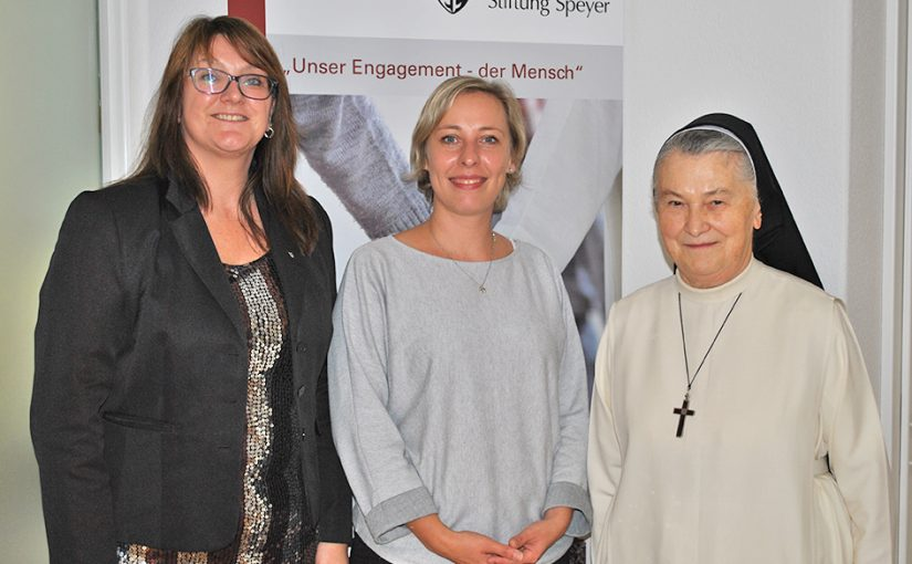 Stefanie Seiler, designierte Speyers erste Oberbürgermeisterin besucht die St. Dominikus Stiftung Speyer